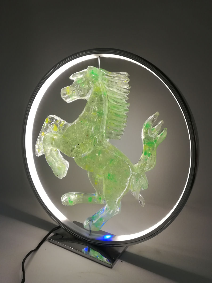 green horse contemporary art collection italdesignfogliaro
